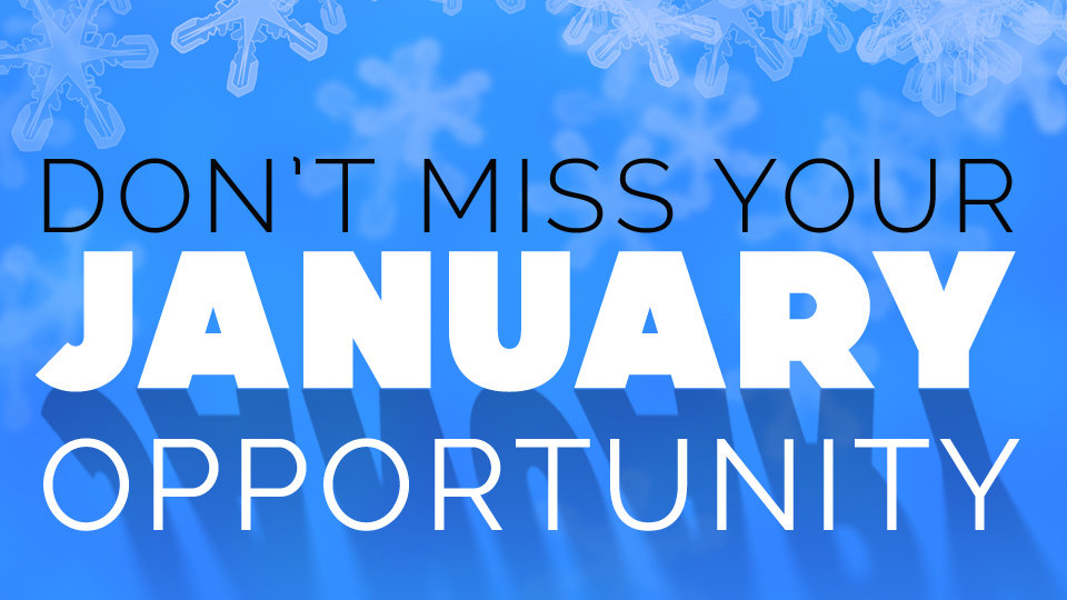 Don't Miss Your January Opportunity as a Church · The A Group