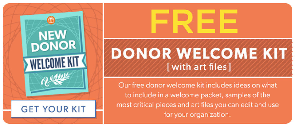 the importance of a new donor welcome kit free template the a group. Black Bedroom Furniture Sets. Home Design Ideas