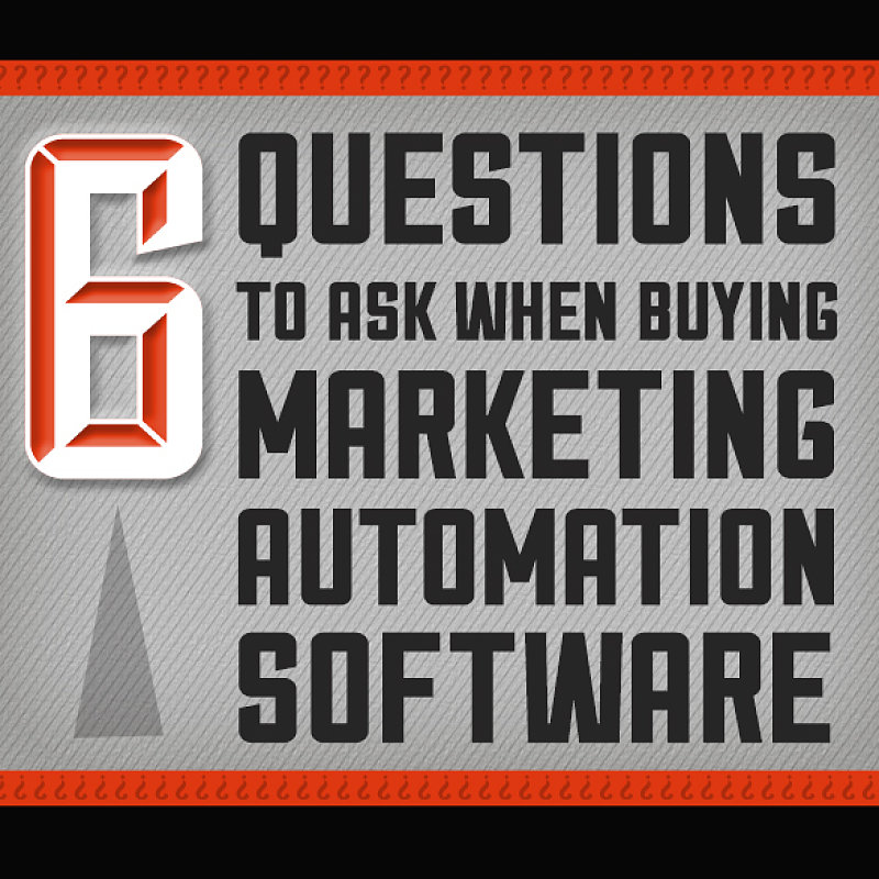 6 Questions To Ask When Buying Marketing Automation